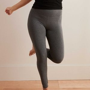 Aerie Move High Waisted Yoga Pants Leggings Gray